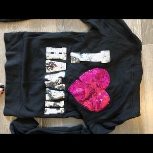 Pink zip up sweater* special edition